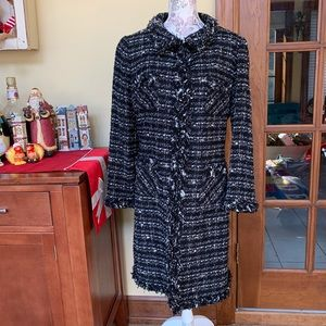 ZARA | Long Tweed Jacket